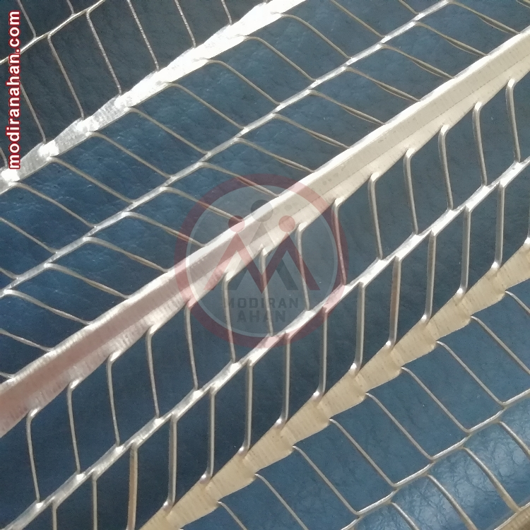 Flat ribbed galvanized expanded metal lath