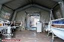 تکمیل ظرفیت بیمارستان ها | برپایی بیمارستان های صحرایی