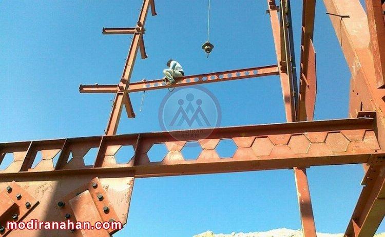 هدف از ساخت تیرآهن لانه زنبوری