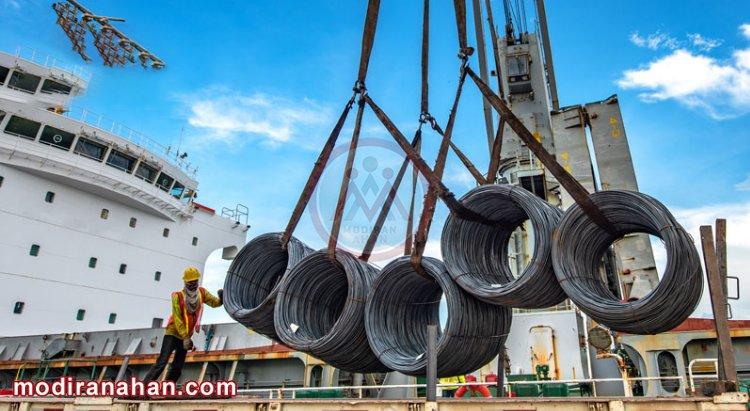 افزایش صادرات و کاهش واردات آهن به ایران