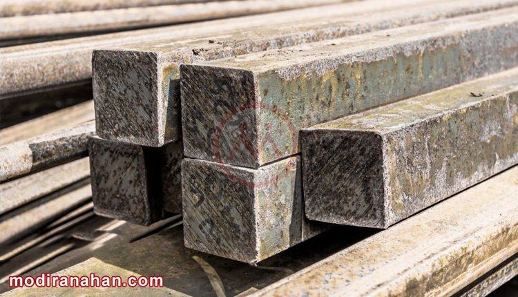 کاهش قیمت شمش در بازار فولاد