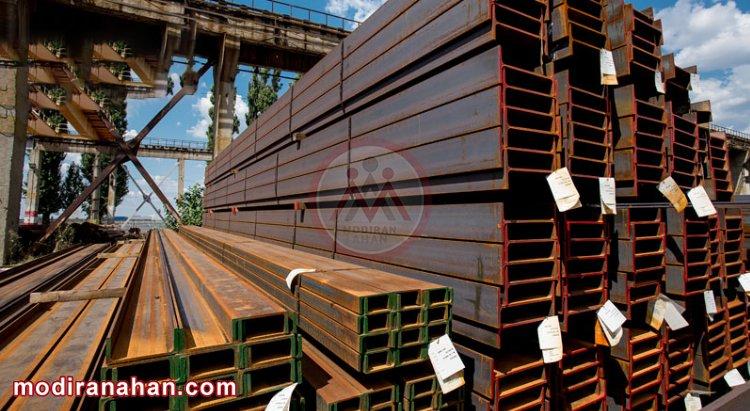 صادرات تیرآهن به عراق، بلغارستان، ارمنستان و ترکیه