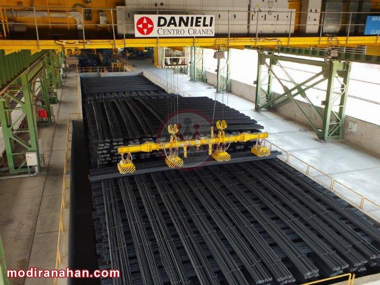 تجهیزات دانیلی کارخانه روهینا