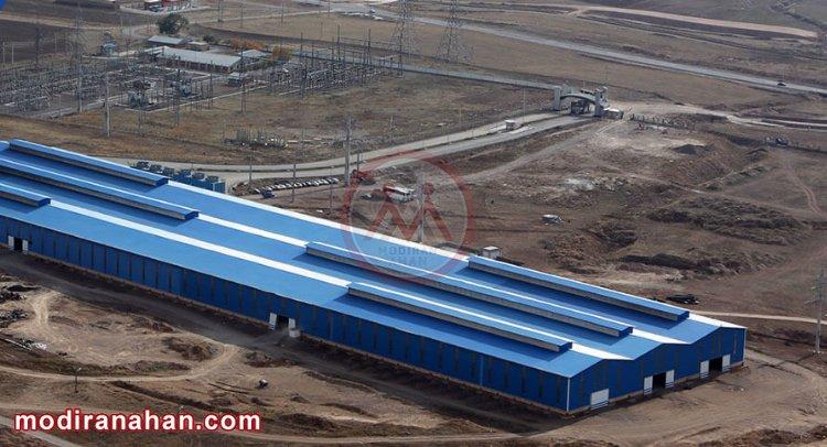 کارخانه فولاد کاوه تیکمه داش