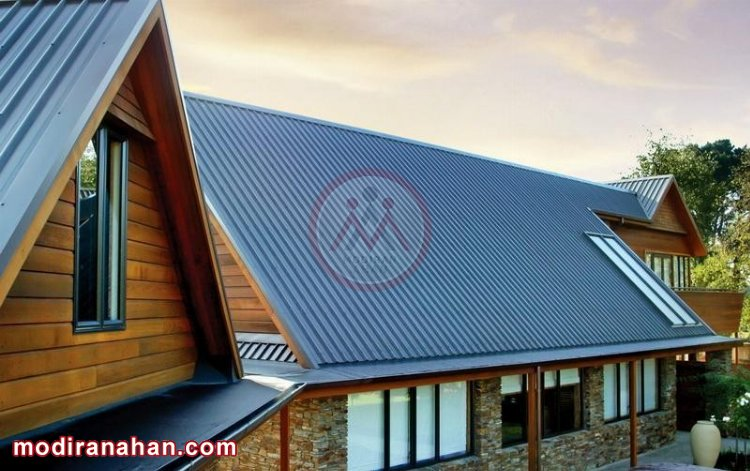 ورق گالوانیزه رنگی برای سقف
