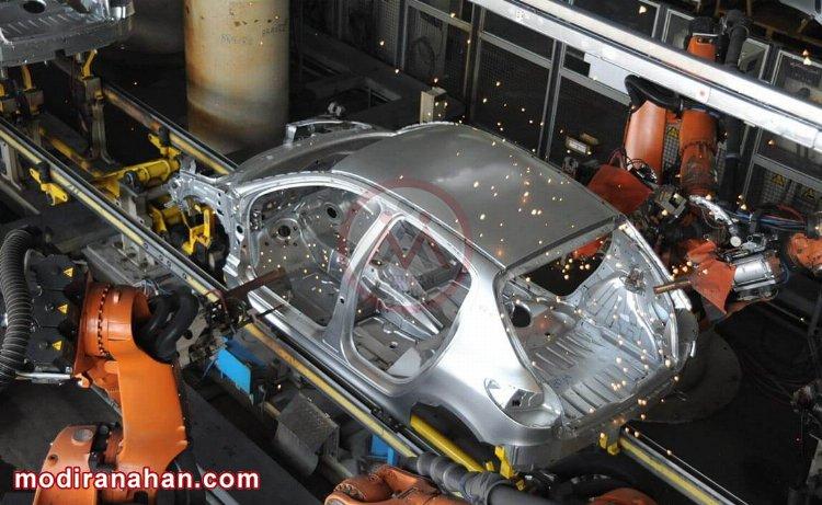 استفاده از ورق st37 در ساخت بدنه خودرو