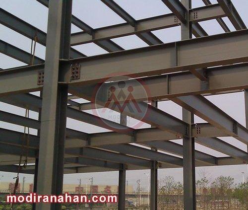 استفاده از تیرآهن در ساختمان سازی