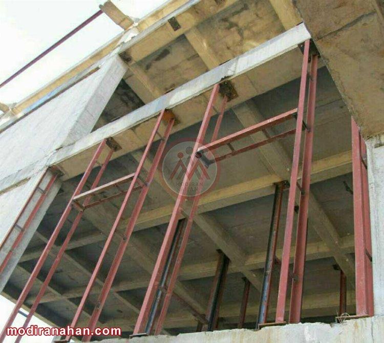 کاربرد نبشی در ساختمان سازی