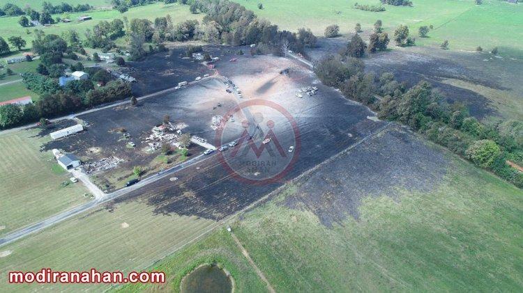 انفجار خط لوله گاز در کنتاکی با 1 کشته (عامل حادثه نشت گاز ناشی از خوردگی)