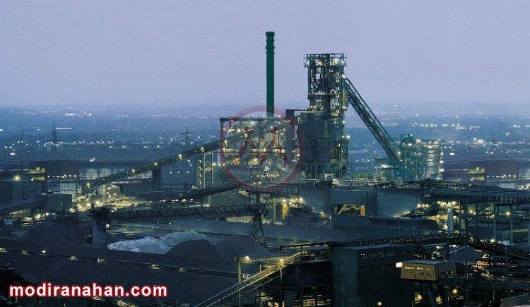 تصویری از کوره بلند مدرن ساخت شرکت دانیلی