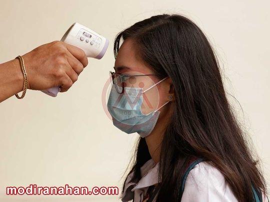 تب سنج های حرارتی در تشخیص کرونا موثر نیستند.