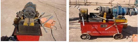 آماده سازی میلگرد آجدار برای اتصال با کوپلر